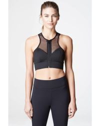 Michi - Avalon Zip Bra - Lyst