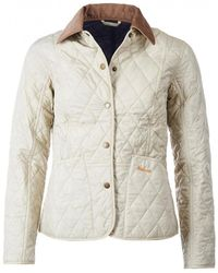16fc45de2ad Barbour - Women s Summer Quilted Liddesdale Jacket - Lyst