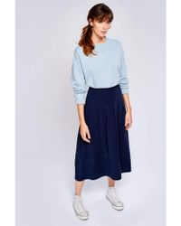 Bellerose - Lexpo Navy Skirt - Lyst