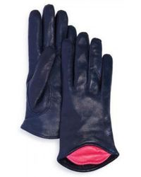 Maison Fabre - Lambskin Leather Kiss Gloves - Lyst