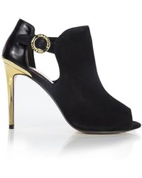 Ted Baker - Women's Sandrouse Cut Out Heeled Ankle Boots - Lyst