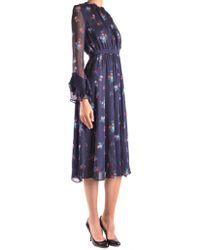 Pinko - Floral Printed Dress - Lyst