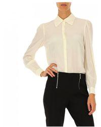 MICHAEL Michael Kors - Shirt In White - Lyst