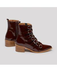E8 By Miista - Tuva Merlot Boots - Lyst