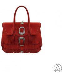 Mia Bag - • Shoulder Bag In Red - Lyst