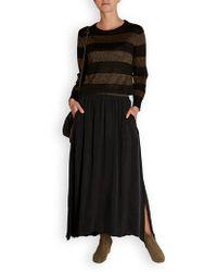 American Vintage - Nono Cupro Silky Skirt - Lyst