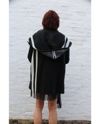 Atterley - Blanket Jacket With Optional Hood/scarf - Lyst