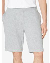 Sunspel - Loopback Shorts In Grey Melange - Lyst