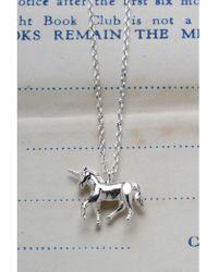 Estella Bartlett - Unicorn Necklace - Lyst