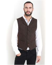 Gibson - Grouse Button Waistcoat - Lyst