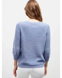 Great Plains - Summer Cotton Knit In Falls Blue - Lyst