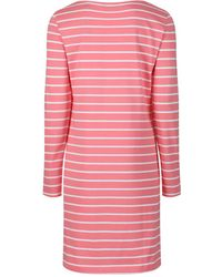 GANT - Women's O1. Breton Stripe Boatneck Dress - Lyst