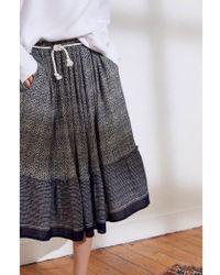 Swildens - Sedum Mosaic Print Skirt - Lyst