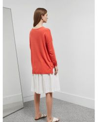 Great Plains - Cleo Cashmere Knit In Brick - Lyst