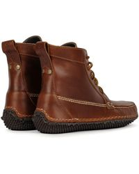 Quoddy Camp Boot Cavalier Whiskey - Brown