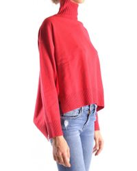 Pinko - Turtle Neck In Red - Lyst