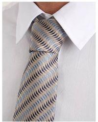 Armani Jeans - Wave Patterned Tie - Lyst