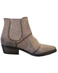 Strategia - E741 Stud Ankle Boot - Lyst