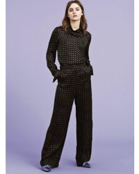 Gestuz - Dots Trousers In Purple - Lyst