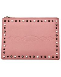 Pinko - Pouch In Pink - Lyst