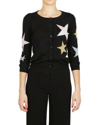 Boutique Moschino - Star Button Cardigan - Lyst