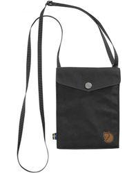 Fjallraven - Fjallraven Pocket Shoulder Bag Dark Grey - Lyst