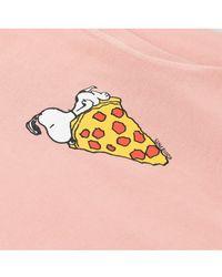 Tsptr - Snoopy Pizza Sweat - Lyst
