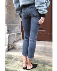 Lee Jeans - Elly Mid Smoke Jeans - Lyst