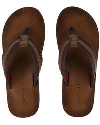 GANT - Breed Sandals - Lyst