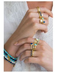 Anna Beck - Wisdom Blue Lapis Multi Stone Ring - Lyst