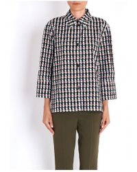 Marni - Printed Polo 3/4 Shirt Sleeves - Lyst