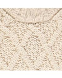 Essentiel - Sacramo Cable Knit Sweater - Lyst