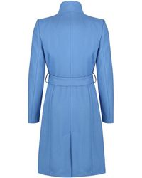 Ted Baker - Sandra Long Wrap Coat - Lyst