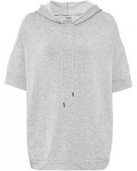 Velvet By Graham & Spencer - Deysi Short Sleeve Hooded Sweater - Lyst
