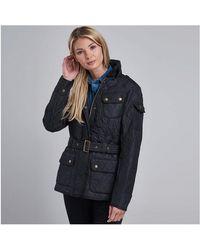 Barbour - Ladies Tourer International Polarquilt Jacket - Lyst
