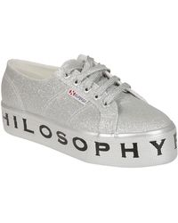 Philosophy - Platform Trainers In Silver - Lyst