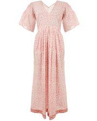 MASSCOB - Indian Cotton Dress - Lyst