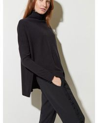 Great Plains - Guernsey Knit In Black - Lyst