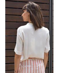 Numph - Catchfly White Shirt - Lyst