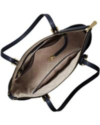 d7f967f8f4a4 MICHAEL Michael Kors Campbell Large Satchel Bag in Blue - Lyst