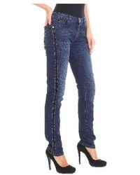 Trussardi - Skinny Jeans In Blue - Lyst