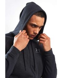 Under Armour - Ua Sportstyle Fleece Full Zip Hoody - Lyst