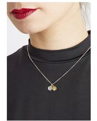 Rachel Jackson - Good Vibes Hexagon Necklace - Lyst