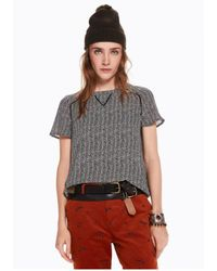 Maison Scotch - Printed Woven Top - Lyst