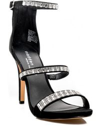 Madden Girl - Heeled Sandals In Black - Lyst