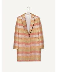 INTROPIA - Hoss 641.04876 Coat In Multicolour - Lyst