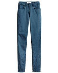 Sandwich - Trousers Casual In Blue Night - Lyst