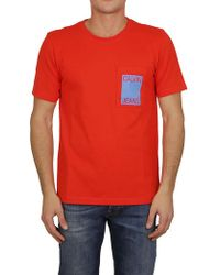 Ck Jeans - T-shirt In Red - Lyst