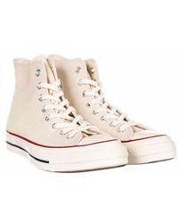 5e8966c934cd Lyst - Converse Chuck Taylor All Star Hi Brush Off Fashion Sneaker ...