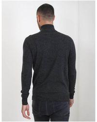 Les Deux - Merino Zipper Knitwear - Lyst